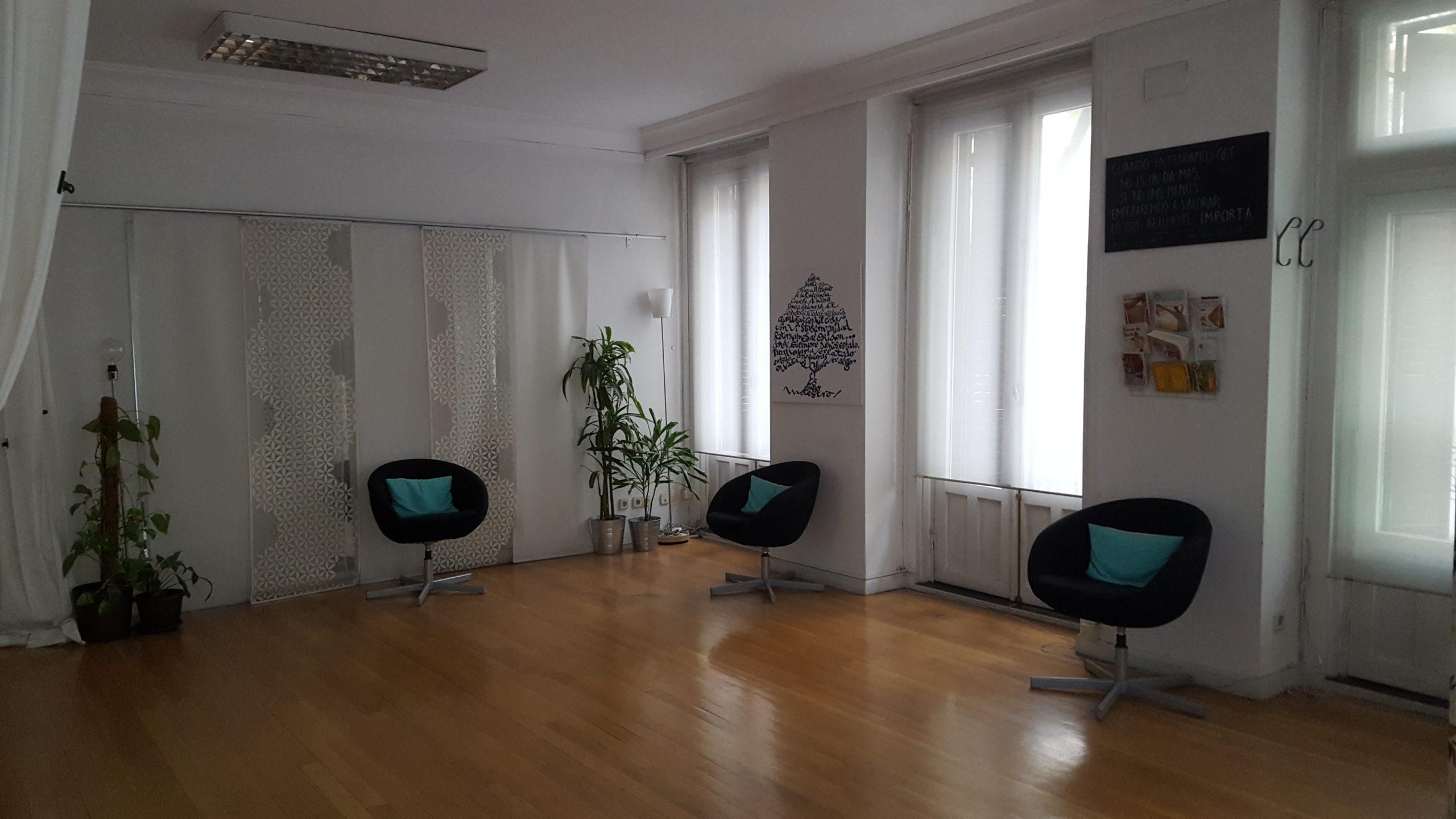 espacio de meditación y silencio